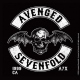 Avenged Sevenfold =coaste CD Deathbat Crest