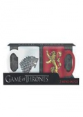 dvd obaly Hrnečky Game of Thrones 110ml set 2ks Stark & Lannister